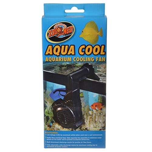 Zoo Med Aqua Cool Aquarium Cooling Fan, Black