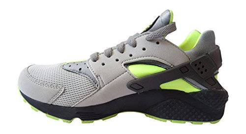 NikeAir Huarache - pantufla Hombre Verde - Dust/Volt/Black/Medium Ash