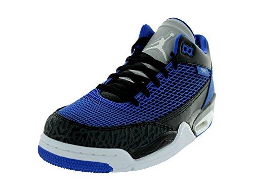NIke Jordan Men's Jordan Flight Club 80's Black/White/Game Royal Basketball Shoe 8 Men US (13) (Nike Jordan Shoes Men Flight Club)