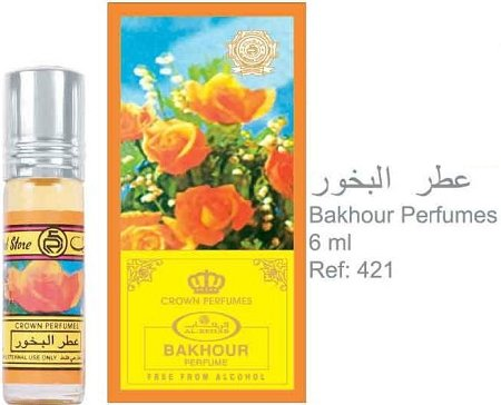 Bakhour - 6ml (.2 oz) Perfume Oil by AlRehab