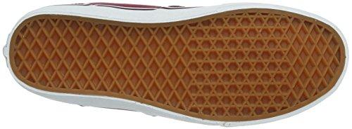 Vans M WINSTON (CANVAS) CORDOV - Zapatillas de lona para hombre Bordeau/Blanco (Cordovan/White)