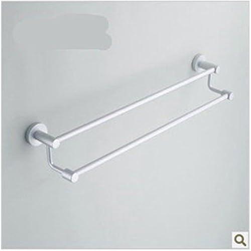 good KHSKX Bathroom hardware space aluminum double towel racks towel bathroom accessories
