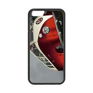 iPhone6 Plus 5.5 inch Phone Case Black VW Minibus Red ESTY7864906