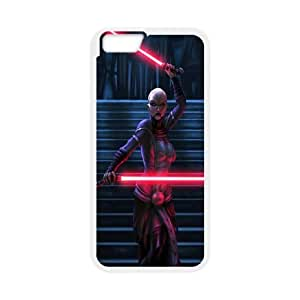 Star Wars Darth Sideous iPhone 6 4.7 Inch Cell Phone Case White JU0029610