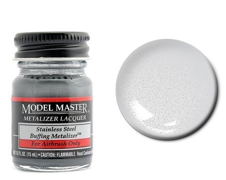 Stainless Steel Metalizer Paint .5oz