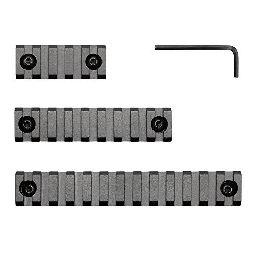 SportsEveryday Picatinny/Weaver Rail M-LOK handguards, Aluminum Alloy,5-Slot,9-Slot,13-Slot by SportsEveryday