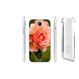 FUNDA CARCASA FLOWER CLOSE UP PARA HTC DESIRE 300