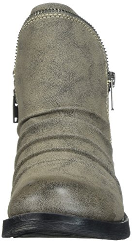 para Brisha Mujer al gris Tobillo SOUL Bota NATURAL 5Xfwq4zv