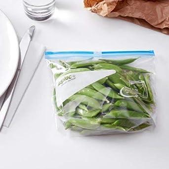 Amazon.com: Food Ziploc Bolsas deslizantes para congelador ...
