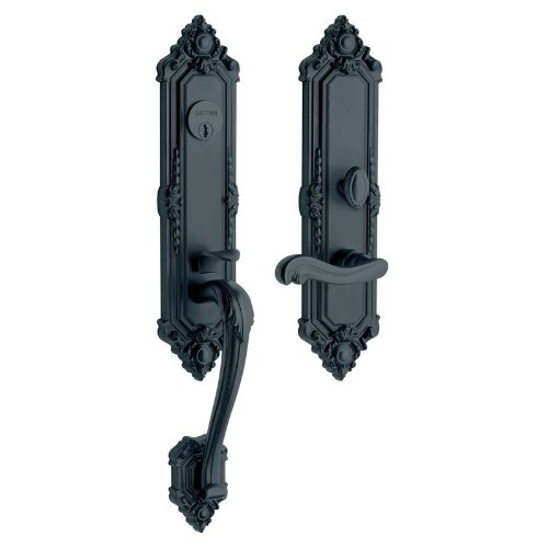 Baldwin 6526.Rent Kensington Right Hand Single Cylinder Mortise Handleset Trim S, Oil Rubbed Bronze