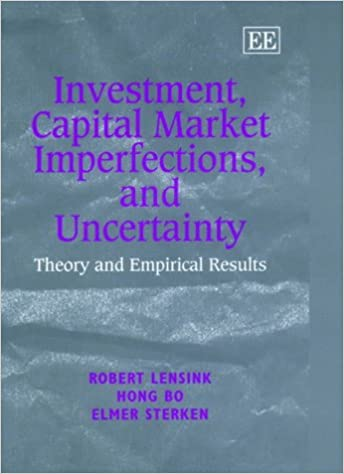 Investment, Capital Market Imperfections and Uncertainty: Theory and Empirical Results (Elgar Monographs)