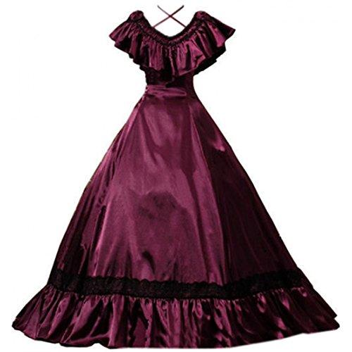 Victorian Edwardian Lady Dress - 6