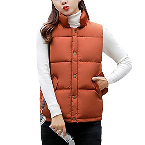 Lightweight Vest Stand Picture Down Sleeveless Gilet Collar Padded As Women Quilted Puffer Jacket Fxq6wI0H