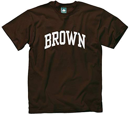 Ivysport Brown University Bears Short-Sleeve T-Shirt, Classic, Brown, Medium