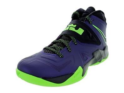 f8ce3dd8150 Nike Zoom Soldier VII - Court Purple Blue Print-Flash Lime