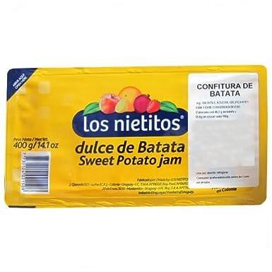 Dulce de batata (patata dulce Pegar)  Los Nietitos 400g: Amazon.es: Alimentación y bebidas