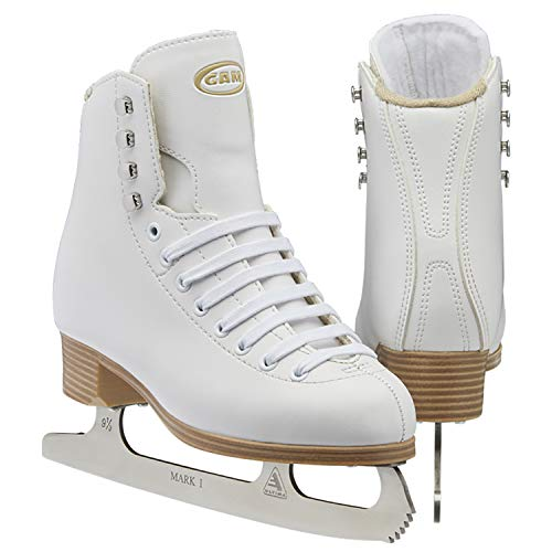 Jackson Ultima GAM G0110 Stella Girls White Figure Ice Skates - Adult 7