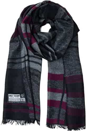 7118e79993 Knot Theory Silk Winter Scarf Softer than Cashmere - for Men & Women