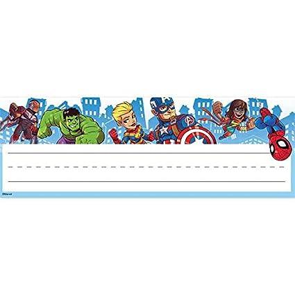 Eureka - Platos autoadhesivos para nombre de aula - Marvel ...