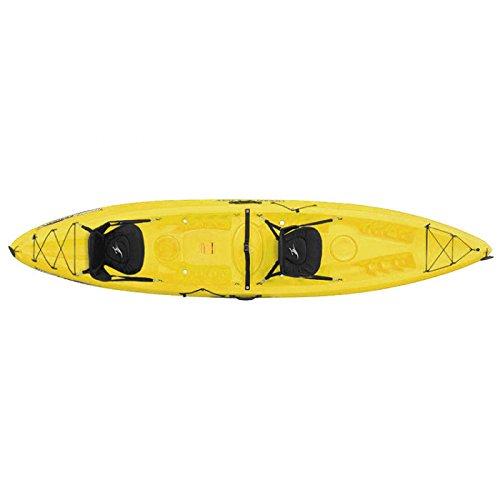 Ocean Kayak Malibu Two XL Tandem Kayak Yellow, One Size - Ocean Kayak Tandem Kayak