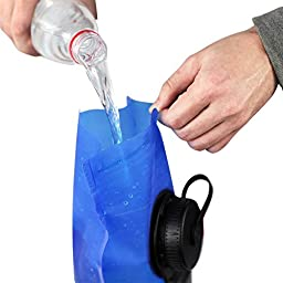 Hydration Bladder, 3 Liter Water Bladder with Dual Opening and Insulated Tube, FDA Approved, BPA-Free for Hiking Hydration Pack