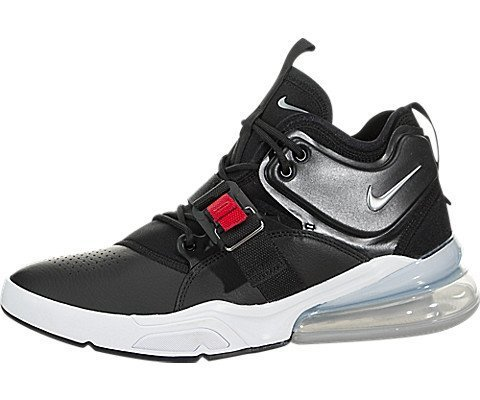 e5263cce3c0 Galleon - NIKE Air Force 270 Men s Running Shoes Black Metallic Silver-White  AH6772-001 (13 D(M) US)