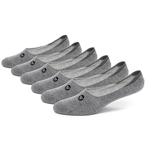 Wanderlust No Show Low Cut Invisible Ankle Socks For Women & Men - Cotton 3-Pack