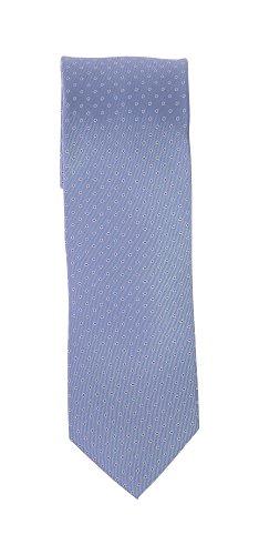 Olymp Seiden Krawatte 7 cm breit Businesskrawatte fleckabweisend durch Nano-Technologie Muster Violett
