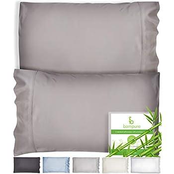 Amazon Com Comfyhome Bamboo Pillowcase Set Of 2 Cooling