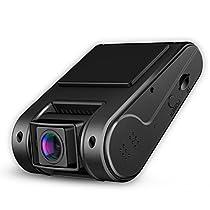 Kenuo ドライブレコーダー 車載カメラ WiFi 1296PフルHD 150度広...