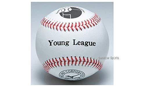 ミズノ 少年用硬式 試合球 ヤングリーグ 1BJBL71200 1ダース12個 ボール 硬式 - B017NFCB4W