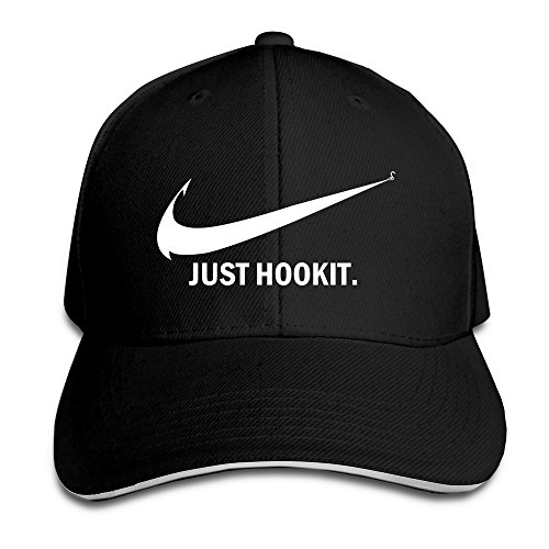 Rapcap just hook it fishing snapback cap fitted baseball for Fishing ball caps