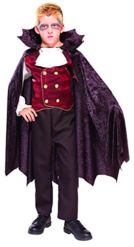 Rubie's Costume Child's Vampire Costume, One Color, Medium - Inexpensive Costumes