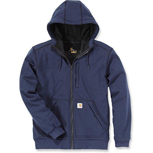 Carhartt Heavyweight Cotton Shirt - Carhartt Men's Wind Fighter Sweatshirt, Navy, Large