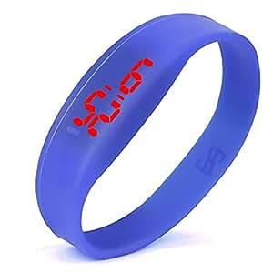 ¡Promoción Reloj Deportivo LED Unisex Silicone Band Relojes Digitales para Mujeres, Hombres, niños