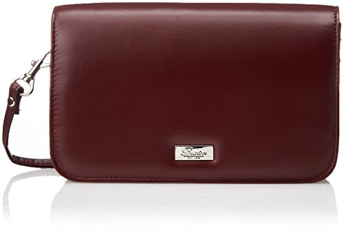 Buxton Women's Crossbody Mini-Bag, Burgundy, One Size