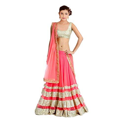 Radheshyam-Enterprise-Womens-Net-Lehenga-Choli-Free-Size-Pink