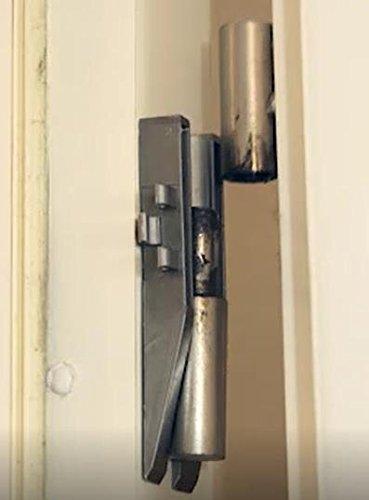 arandelas // espaciadores incluyendo 2 Fitschenringe T/üren Clou Soporte de bisagra para las puertas de la habitaci/ón con bisagra para colgar la puerta de la habitaci/ón