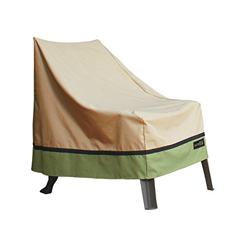 Sure Fit High Back XL Patio Chair Cover, Taupe