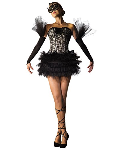Forum Novelties black Swan Ballerina Costume, As Shown, Std -