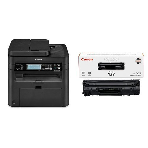 Canon imageCLASS MF249dw Wireless, Multifunction, Duplex Laser Printer with Original Black Toner Cartridge by Canon