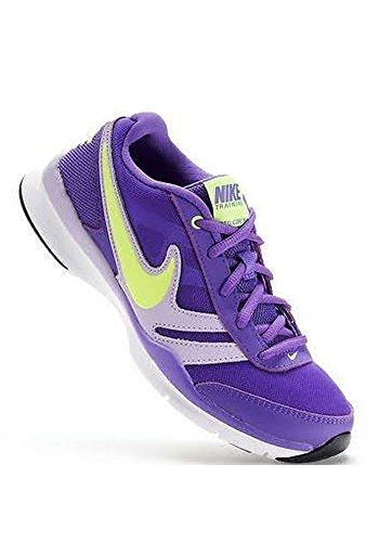 Nike Womens Total Core TR 2 Shoes Purple/Volt/White