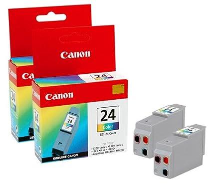 Canon Cartridge BCI-24 Color - Cartucho de Tinta para ...