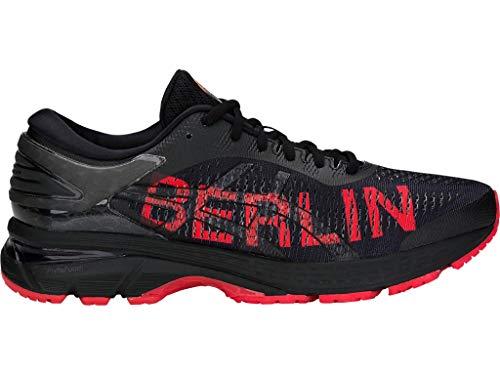 ASICS Men's Gel-Kayano 25 Berlin Running Shoes, 11.5M, Black/Classic RED