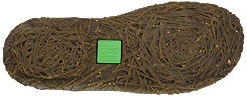Negro N786 Black El Naturalista para Pleasant Soft Grain Botas Chelsea Nido Mujer qwvxB5wPR