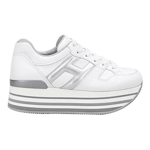 Hogan Womens Maxi H222 Fashion Sneakers (37 EU) White | Pricepulse