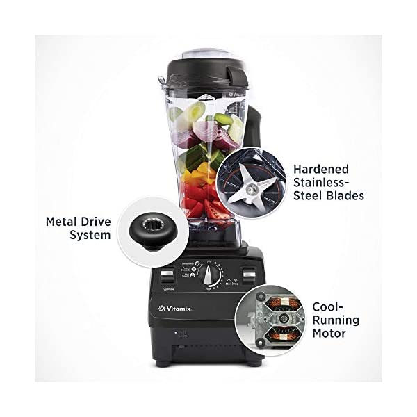 Vitamix Standard Programs Blender, Professional-Grade, 64oz. Container, Black (Renewed) 2