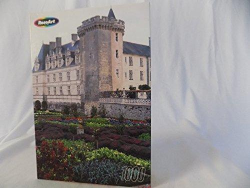 Rose Art Villandry Chateau, France 1,000 Piece Fully Interlocking Jigsaw Puzzle - Villandry Chateau