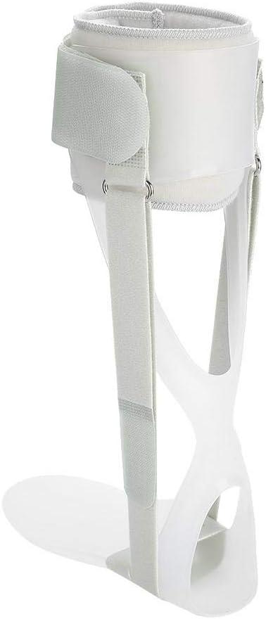 1 pieza Corrector de caída de pie soporte de caída de pie transpirable soporte de caída de pie ajustable ortesis de caída de pie para aliviar el dolor de pie(Right L)