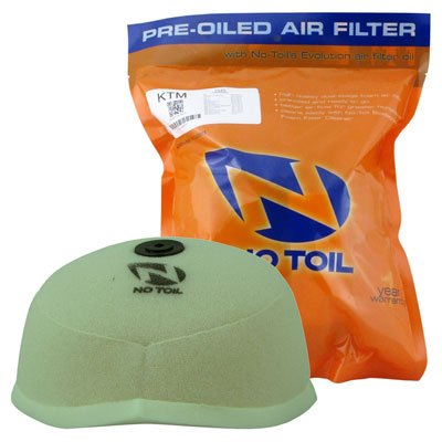 - No-Toil 17-19 KTM 250SX Pre-Oiled Dual Stage Air Filter